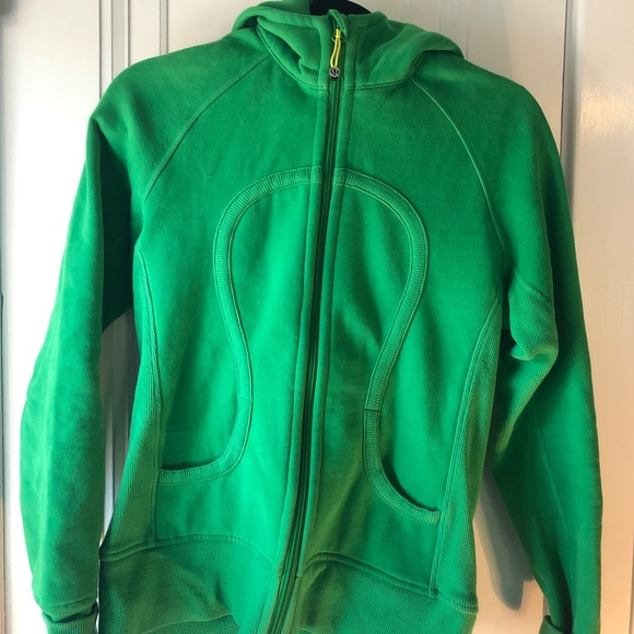 lululemon athletica Tops - Green size 6/8 Lululemon zip up hoodie
